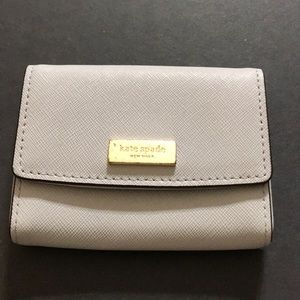 Kate Spade Leather Credit Card Money Holder Wallet